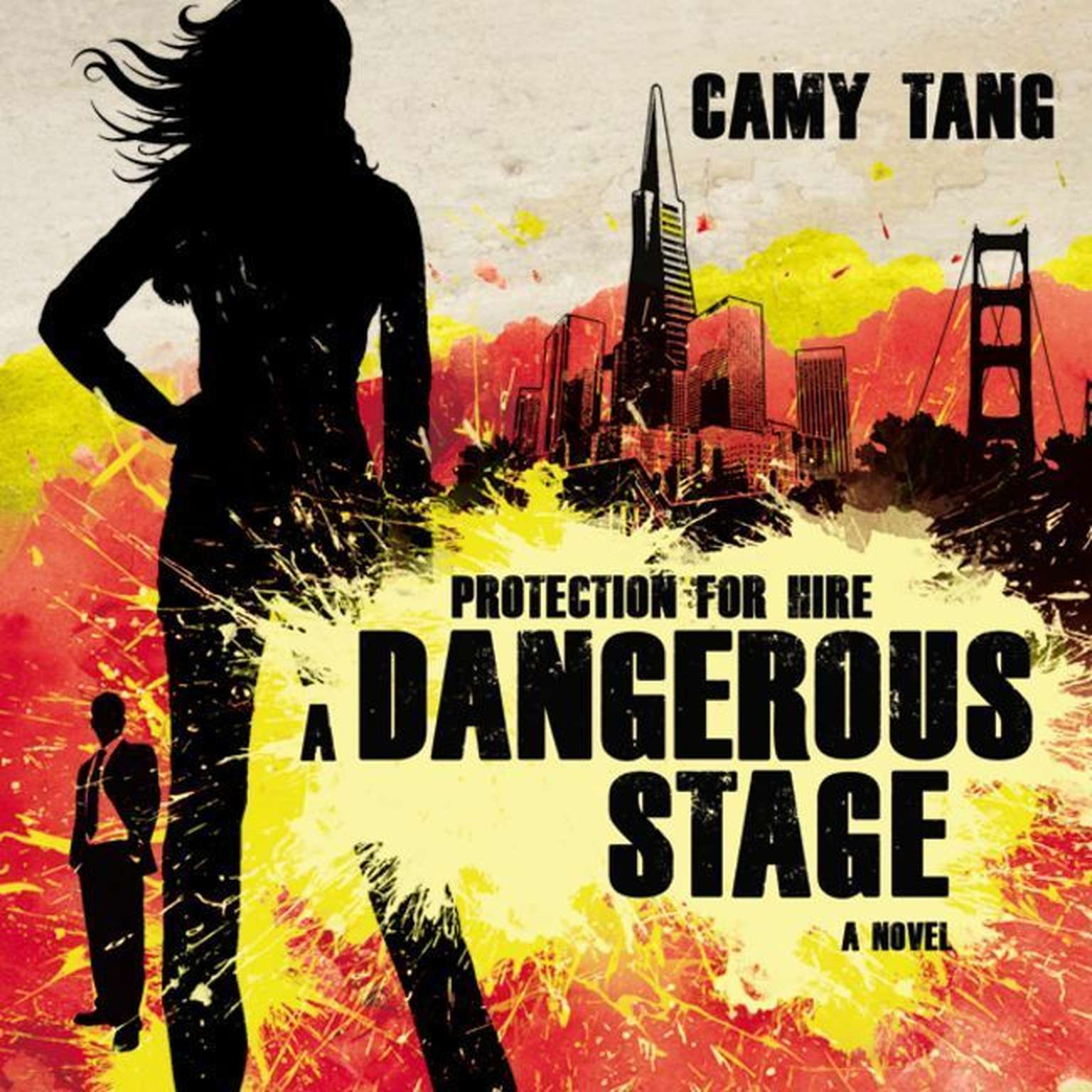 Printable A Dangerous Stage Audiobook Cover Art