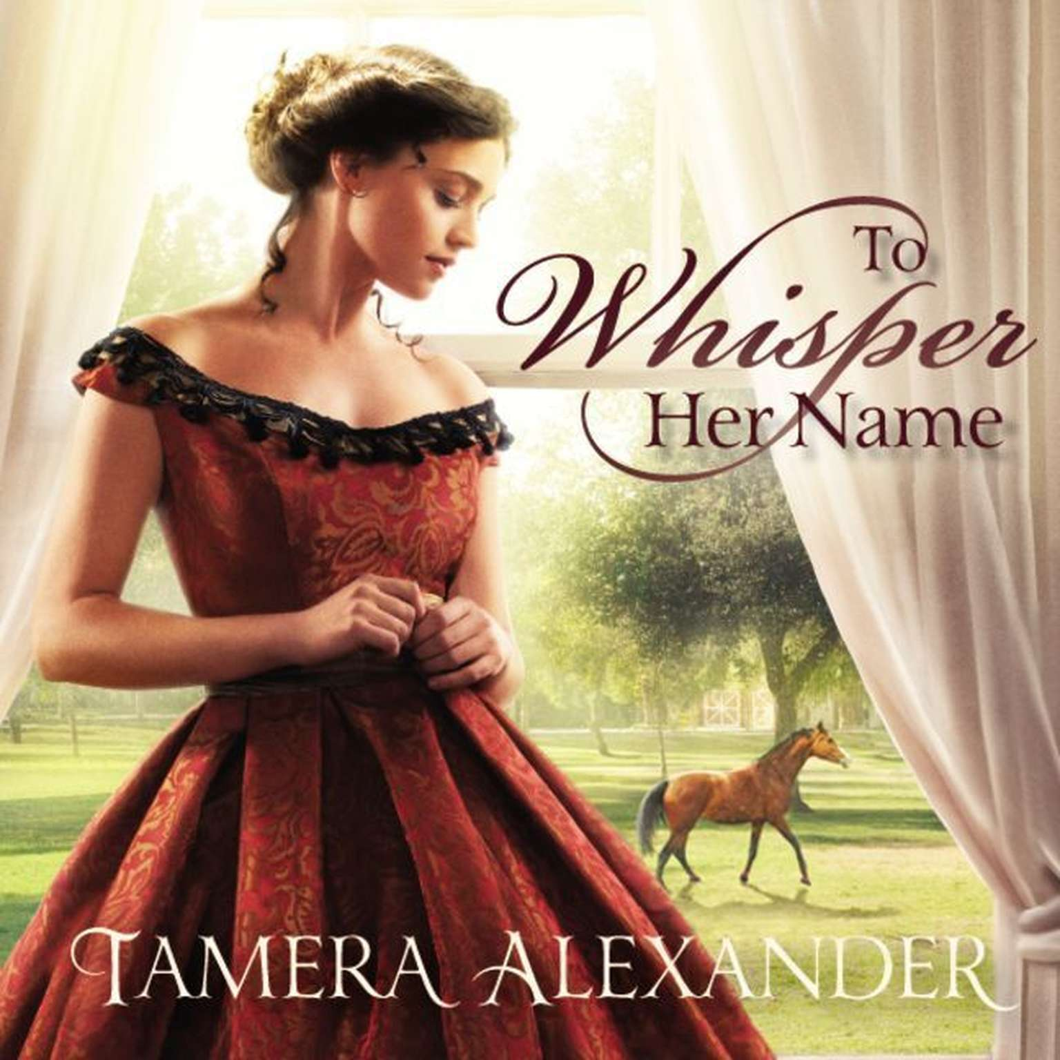 Printable To Whisper Her Name Audiobook Cover Art