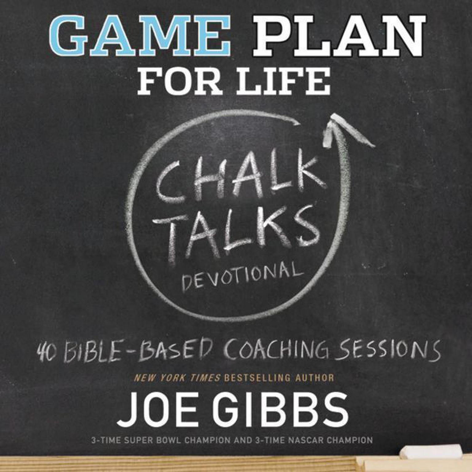 Printable Game Plan for Life CHALK TALKS: Chalk Talks Audiobook Cover Art