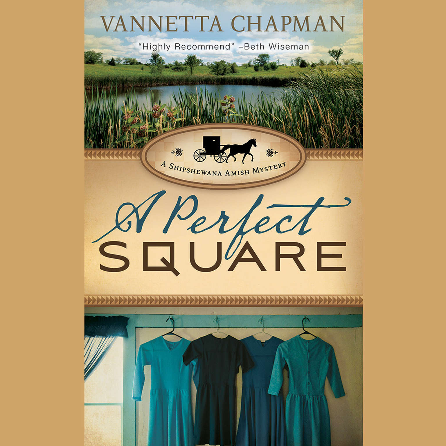 Printable A Perfect Square Audiobook Cover Art