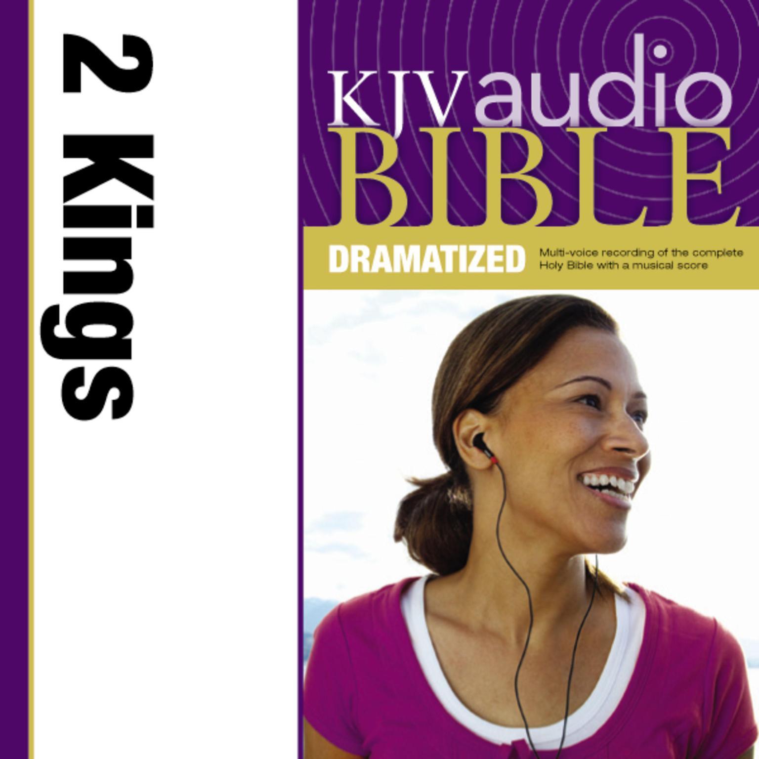 Printable KJV, Audio Bible, Dramatized: 2 Kings, Audio Download Audiobook Cover Art
