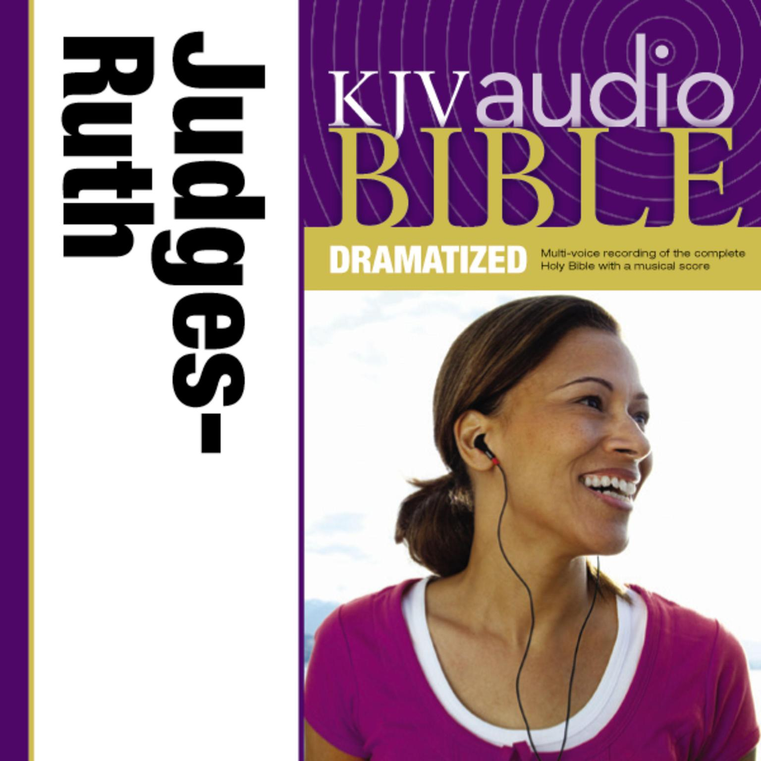 Printable KJV, Audio Bible, Dramatized: Judges and Ruth, Audio Download Audiobook Cover Art