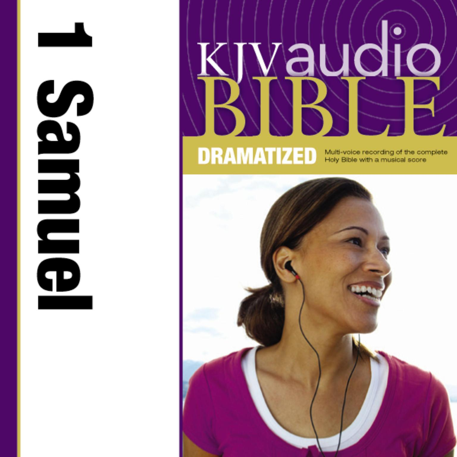 Printable KJV, Audio Bible, Dramatized: 1 Samuel, Audio Download Audiobook Cover Art