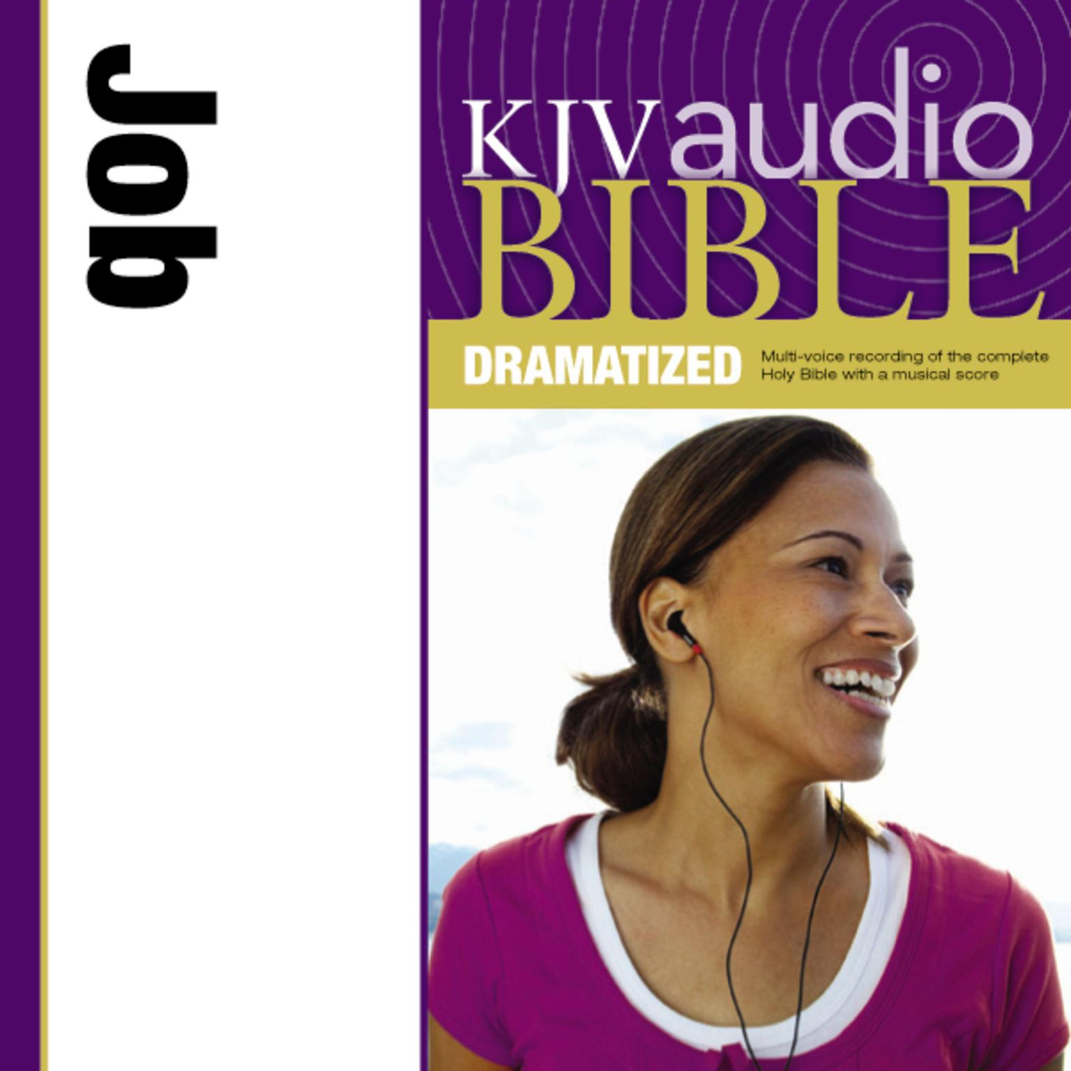 Printable KJV, Audio Bible, Dramatized: Job, Audio Download: Job Audiobook Cover Art