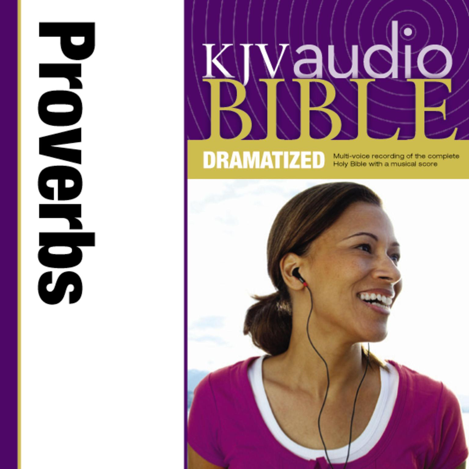 Printable KJV, Audio Bible, Dramatized: Proverbs, Audio Download Audiobook Cover Art
