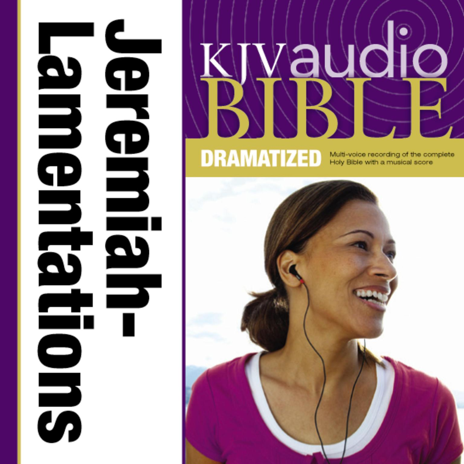 Printable KJV, Audio Bible, Dramatized: Jeremiah and Lamentations, Audio Download: Jeremiah and Lamentations Audiobook Cover Art