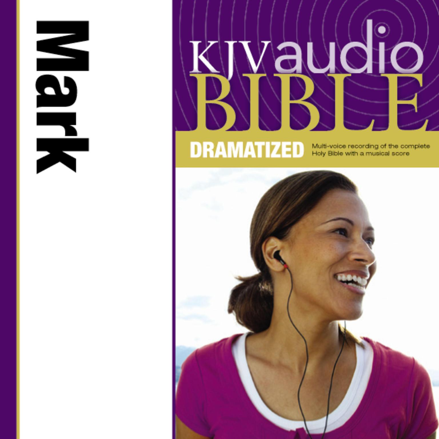 Printable KJV, Audio Bible, Dramatized: Mark, Audio Download Audiobook Cover Art