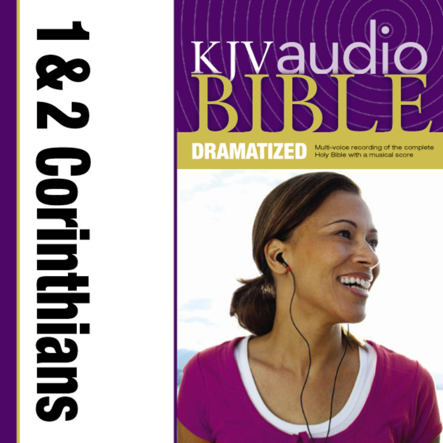 Printable Dramatized Audio Bible - King James Version, KJV: (35) 1 and 2 Corinthians Audiobook Cover Art