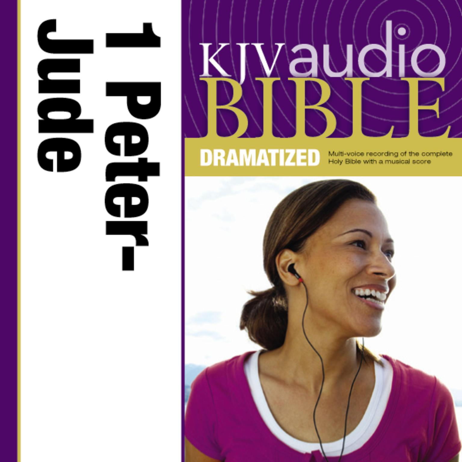 Printable KJV, Audio Bible, Dramatized: 1 and 2 Peter, 1, 2 and 3 John, and Jude, Audio Download Audiobook Cover Art