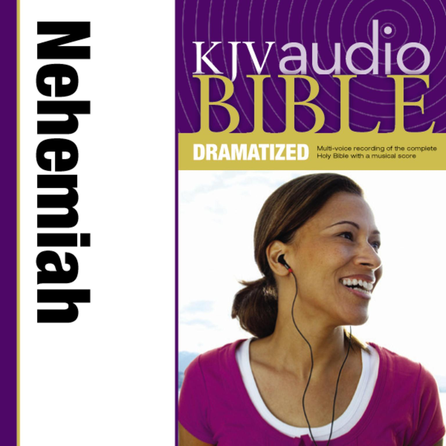 Printable KJV, Audio Bible, Dramatized: Nehemiah, Audio Download Audiobook Cover Art