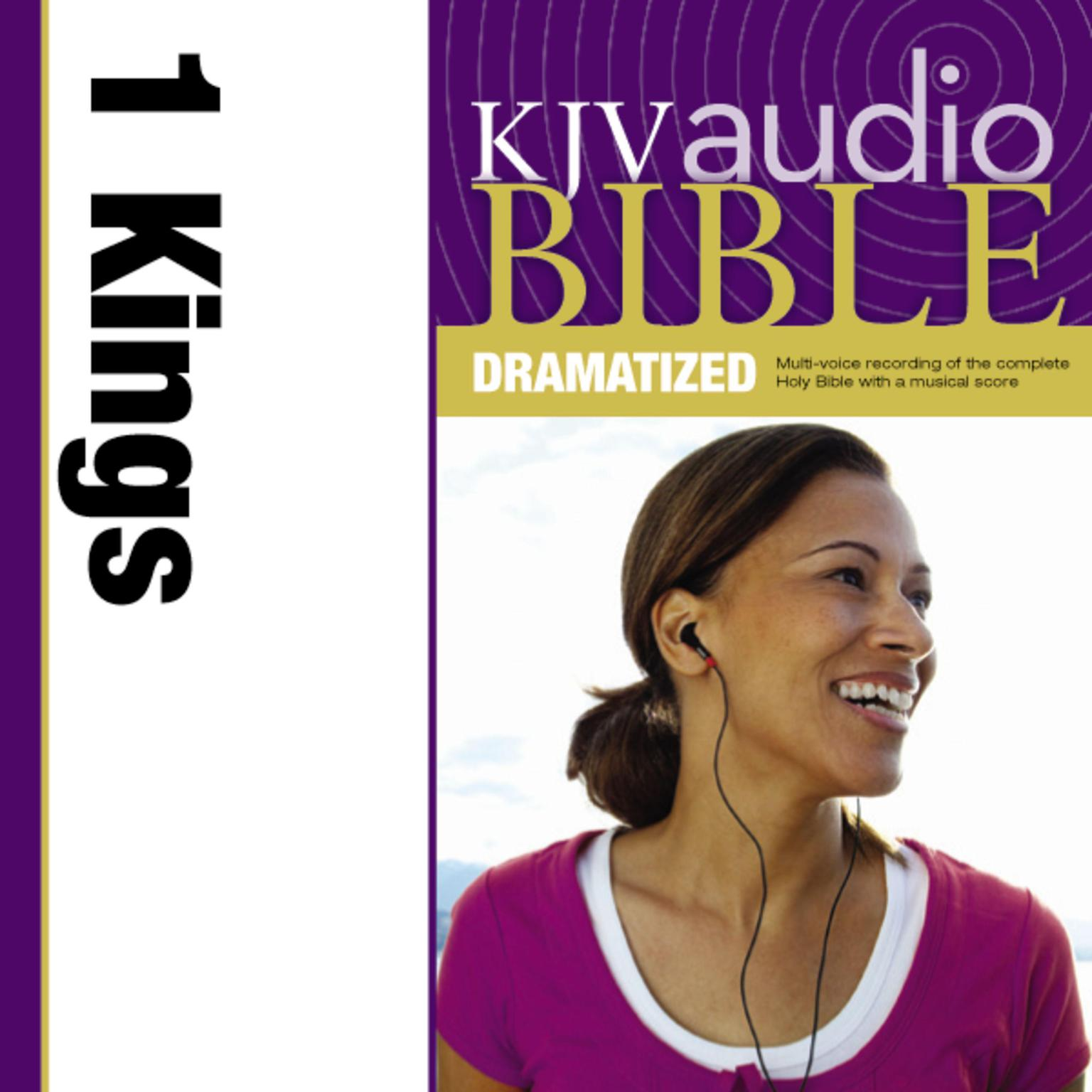 Printable KJV, Audio Bible, Dramatized: 1 Kings, Audio Download Audiobook Cover Art