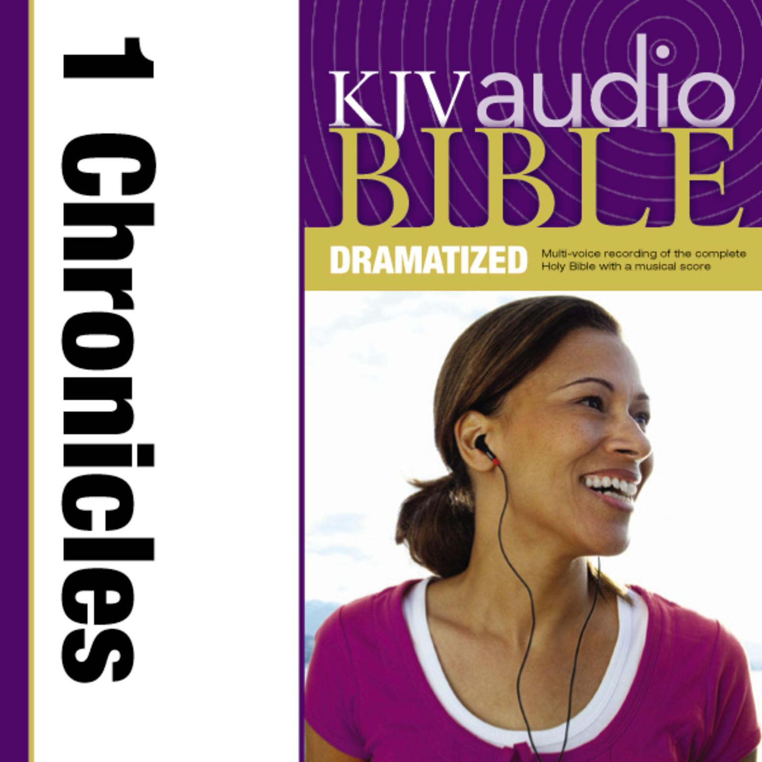 Printable KJV, Audio Bible, Dramatized: 1 Chronicles, Audio Download: 1 Chronicles Audiobook Cover Art