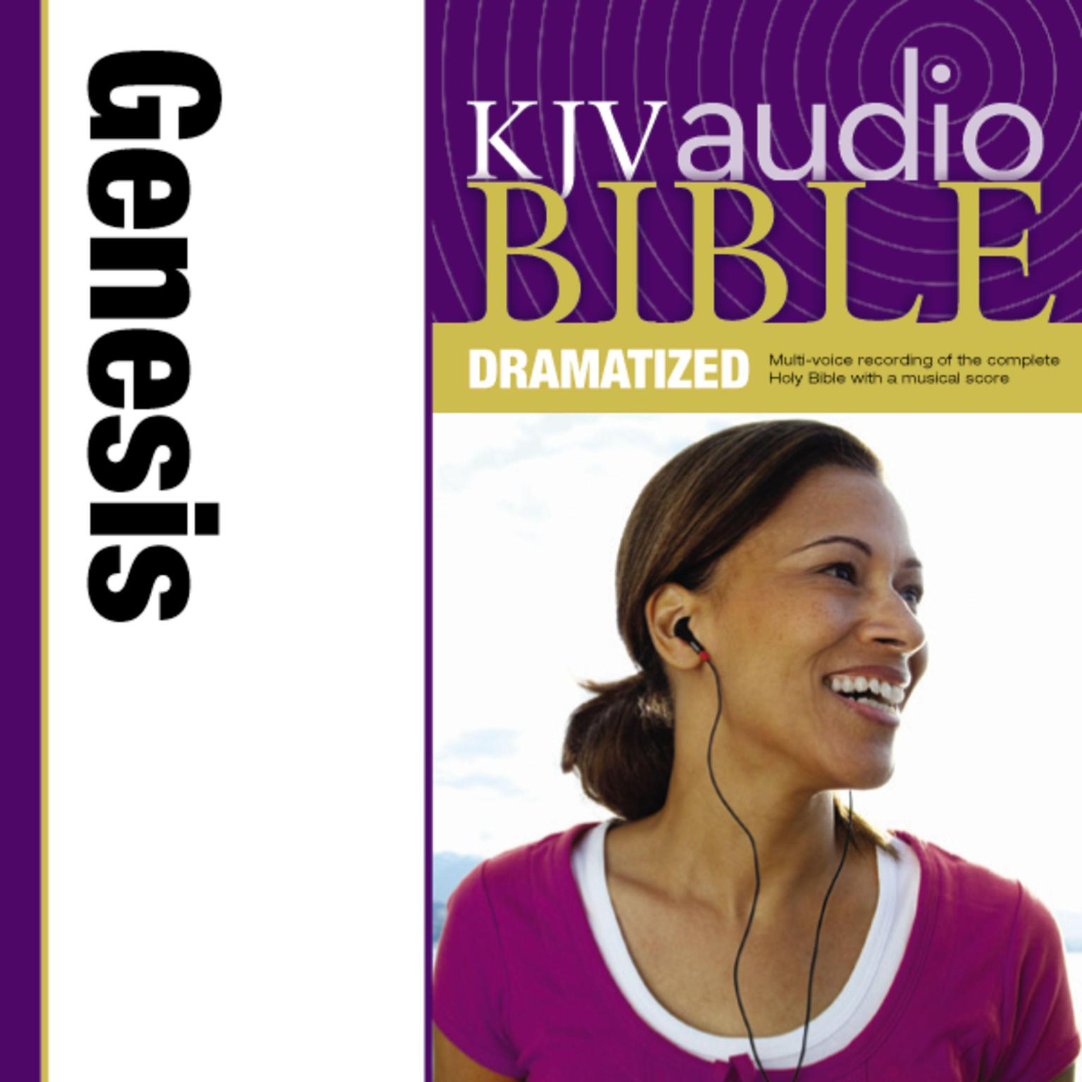 Printable KJV, Audio Bible, Dramatized: Genesis, Audio Download Audiobook Cover Art