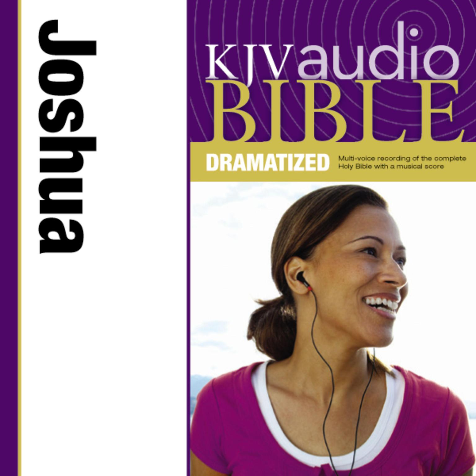 Printable KJV, Audio Bible, Dramatized: Joshua, Audio Download Audiobook Cover Art