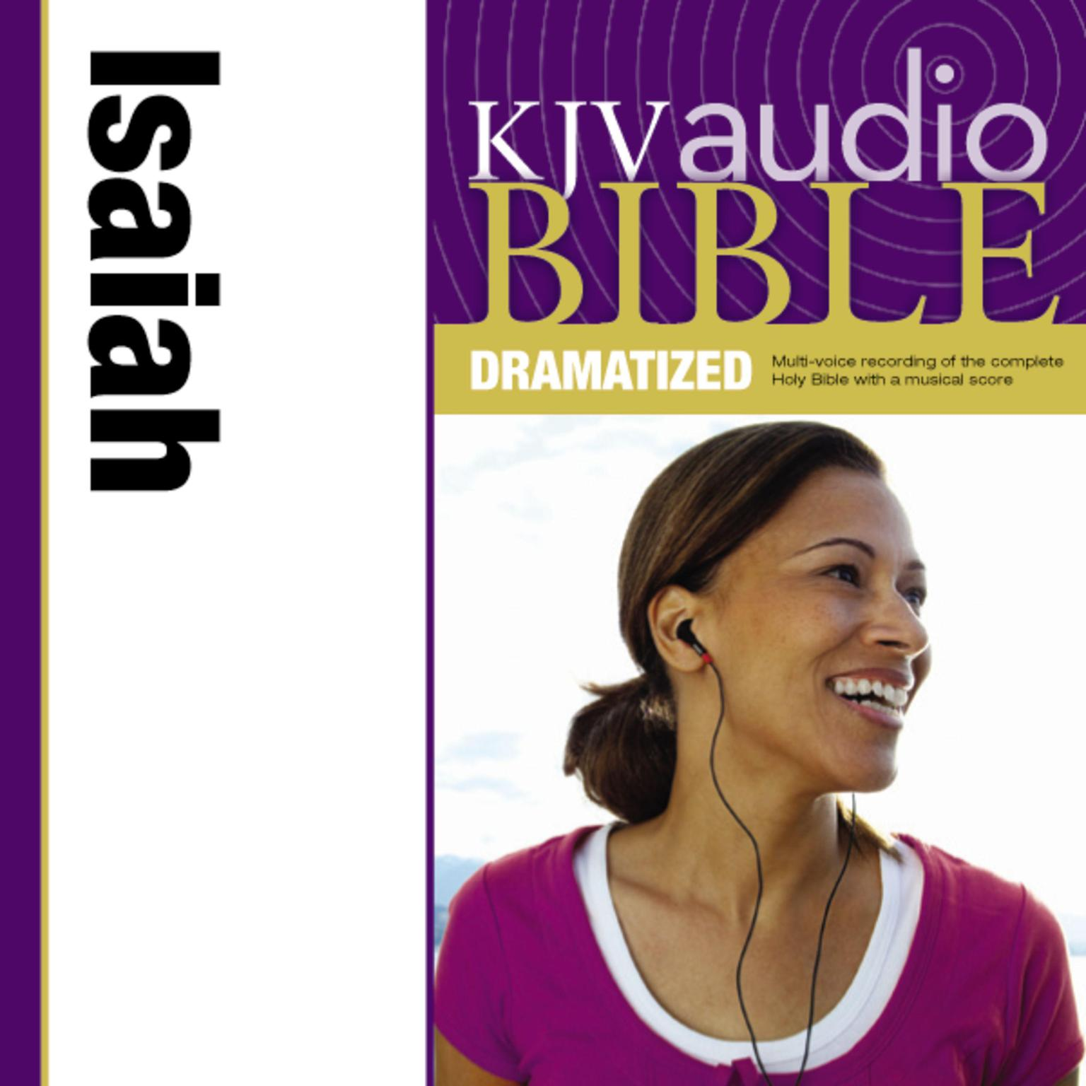 Printable KJV, Audio Bible, Dramatized: Isaiah, Audio Download Audiobook Cover Art