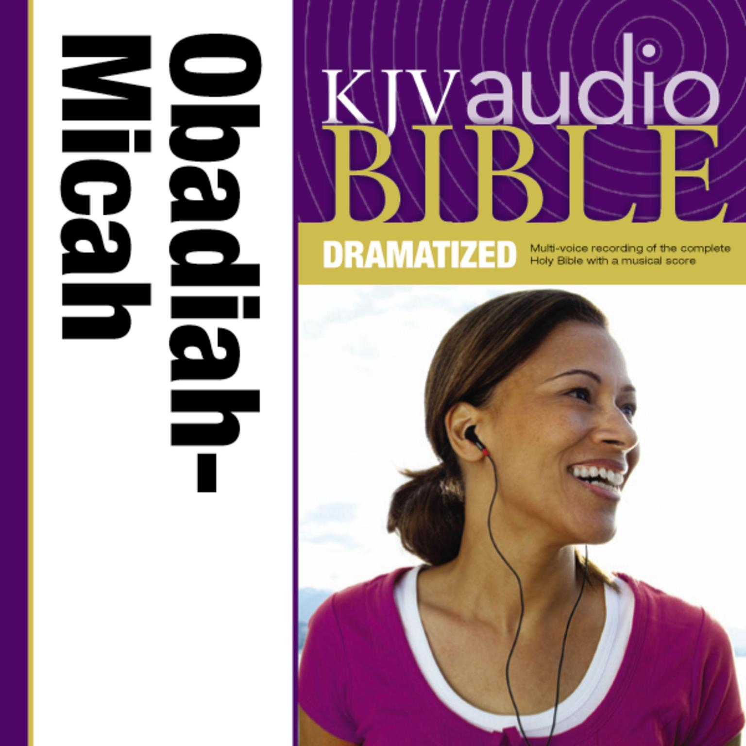 Printable KJV, Audio Bible, Dramatized: Obadiah, Jonah, and Micah, Audio Download Audiobook Cover Art