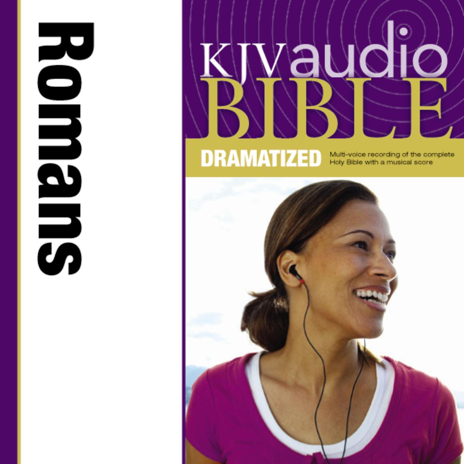 Printable KJV, Audio Bible, Dramatized: Romans, Audio Download Audiobook Cover Art