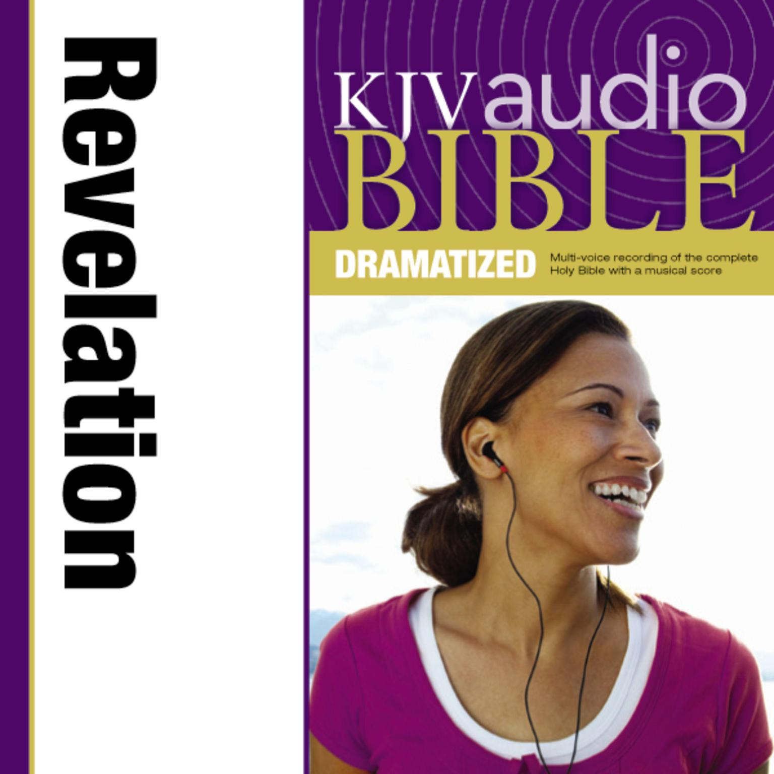 Printable KJV, Audio Bible, Dramatized: Revelation, Audio Download Audiobook Cover Art