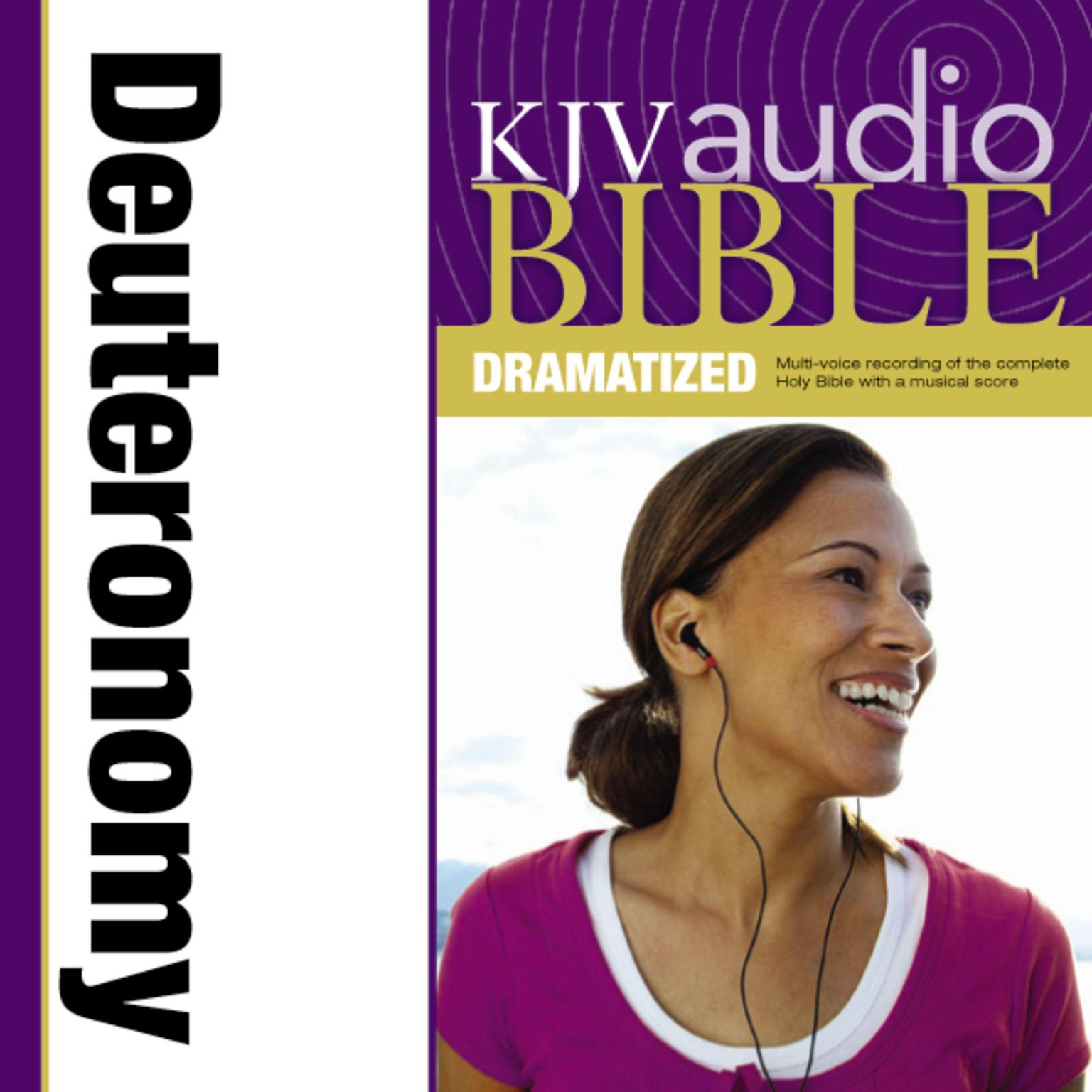 Printable KJV, Audio Bible, Dramatized: Deuteronomy, Audio Download Audiobook Cover Art