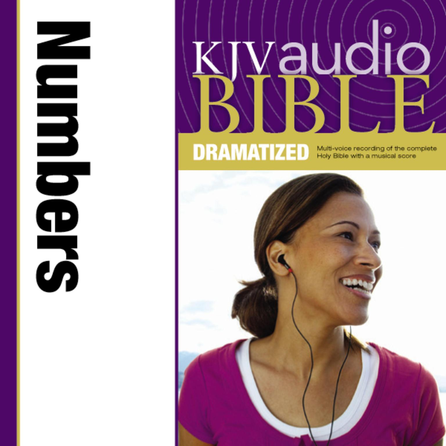 Printable KJV, Audio Bible, Dramatized: Numbers, Audio Download Audiobook Cover Art