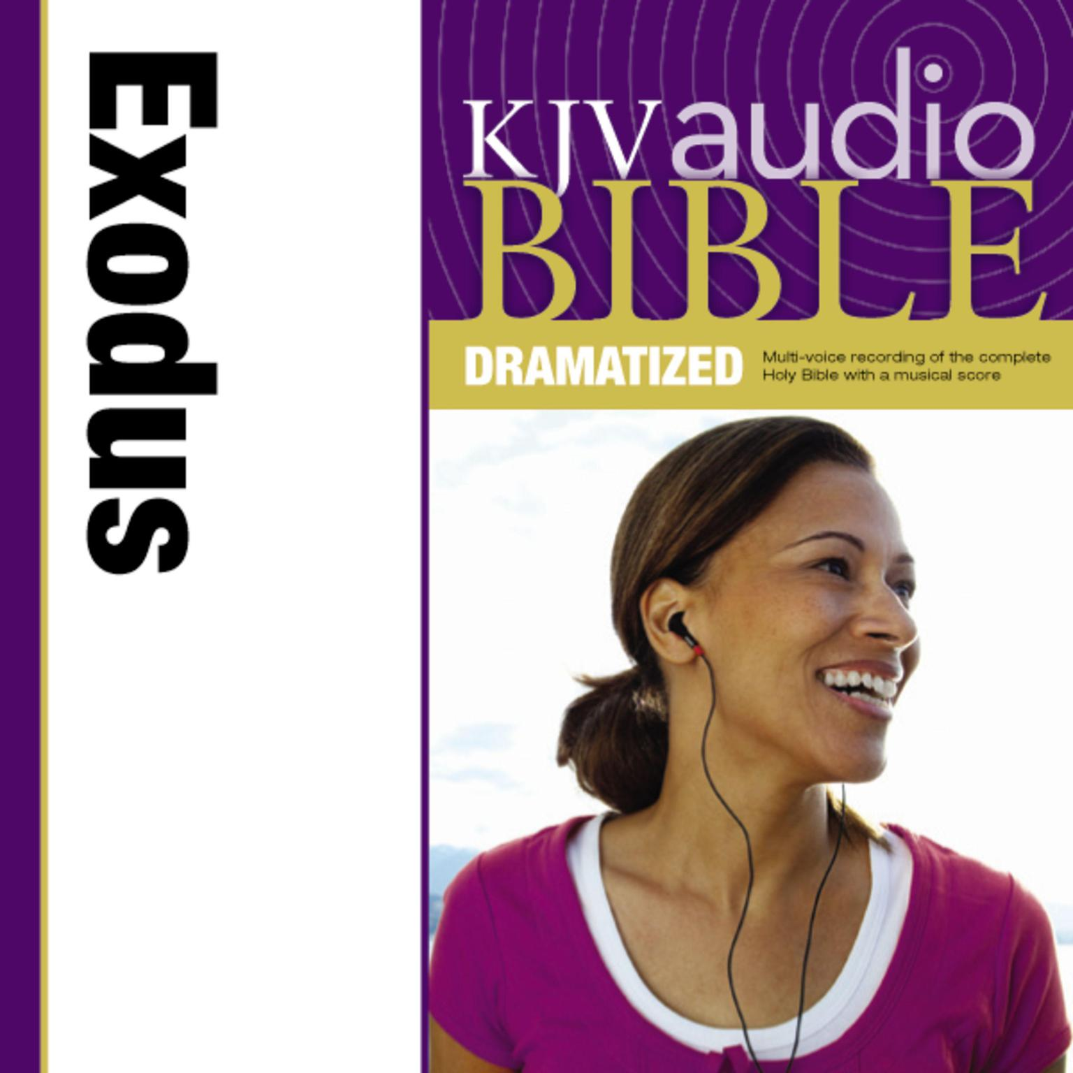 Printable KJV, Audio Bible, Dramatized: Exodus, Audio Download Audiobook Cover Art