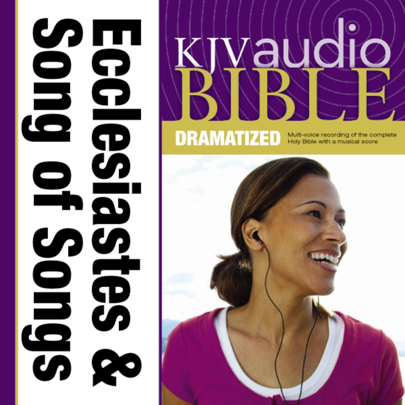 Printable KJV, Audio Bible, Dramatized: Ecclesiastes and Song of Songs, Audio Download Audiobook Cover Art
