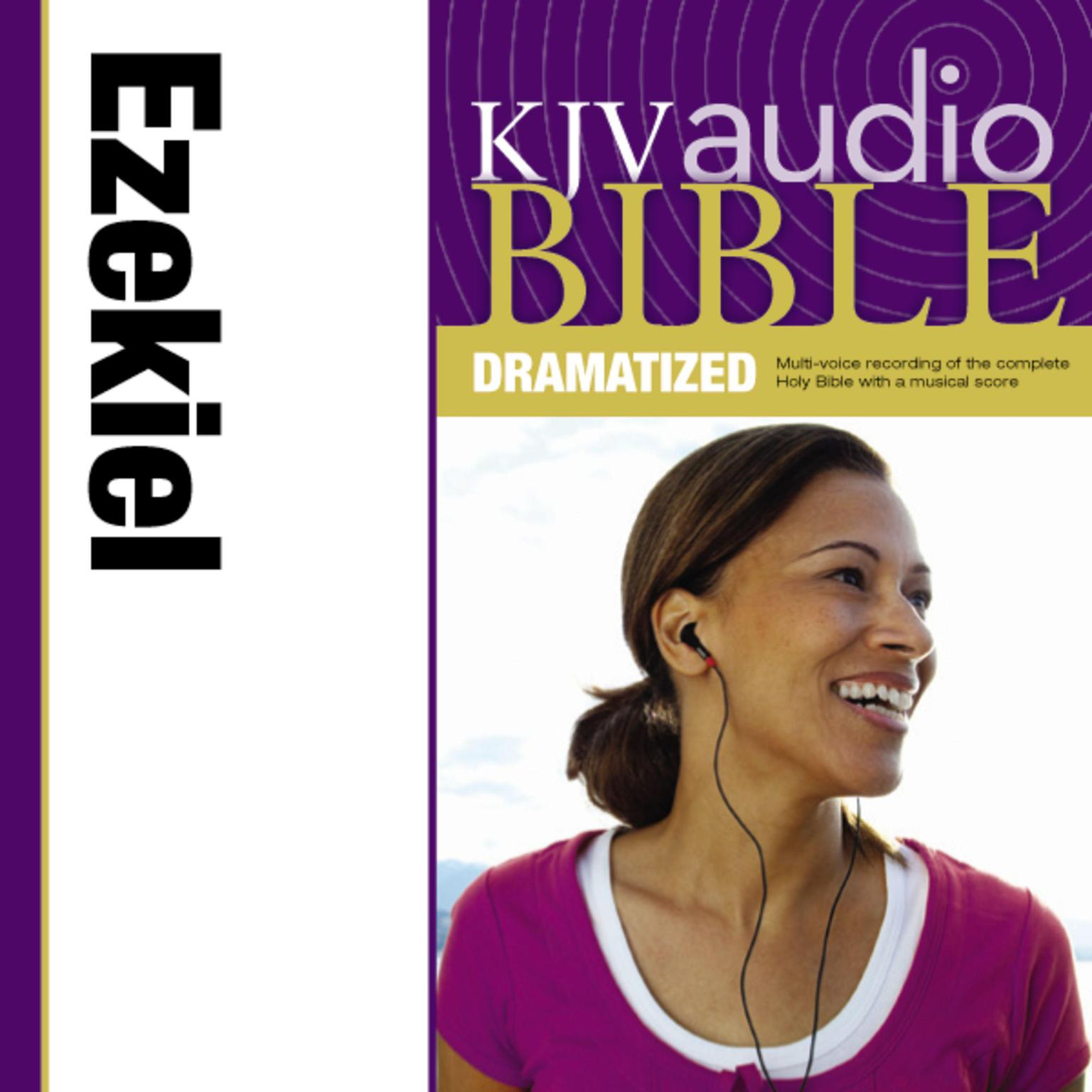 Printable KJV, Audio Bible, Dramatized: Ezekiel, Audio Download Audiobook Cover Art