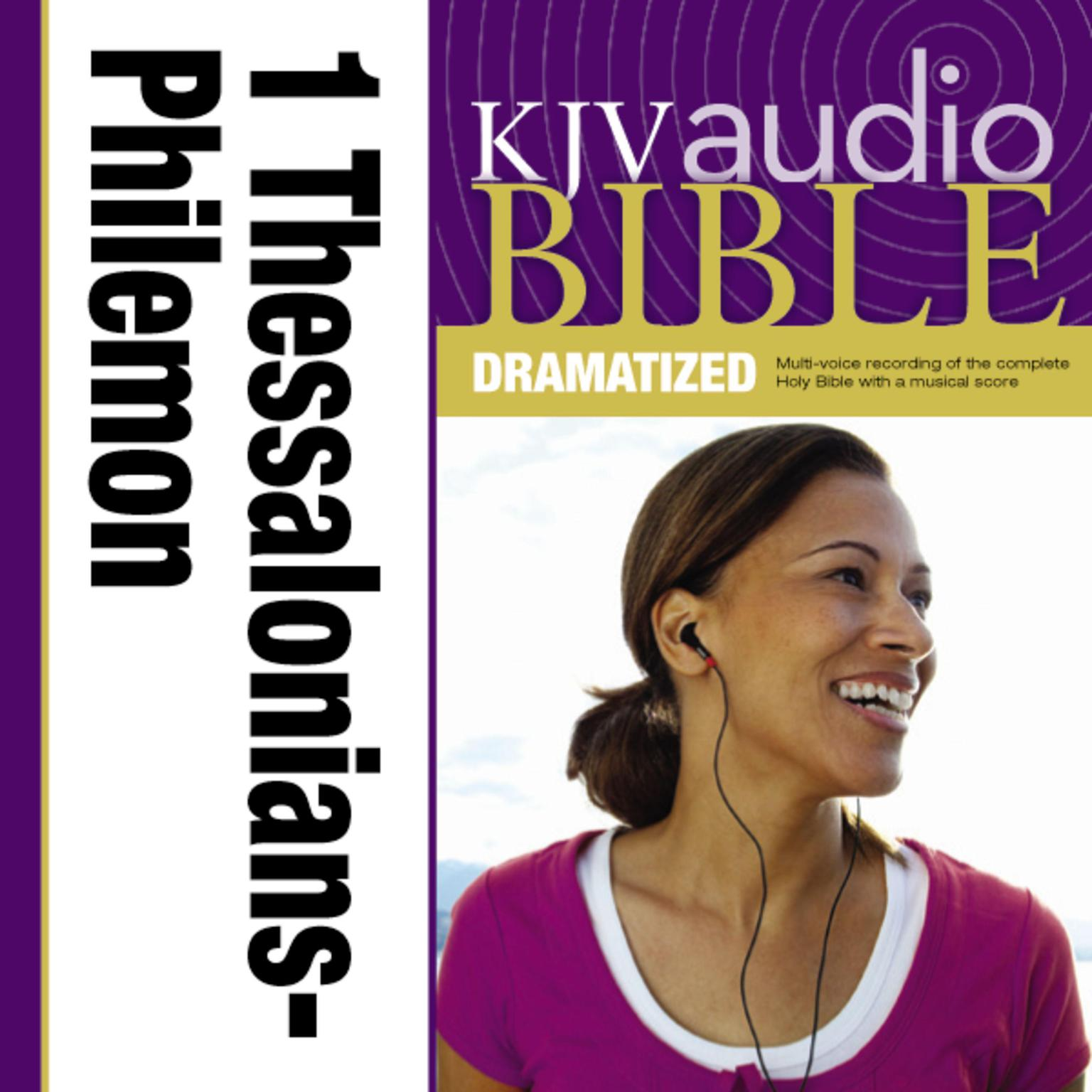 Printable KJV, Audio Bible, Dramatized: 1 and 2 Thessalonians, 1 and 2 Timothy, Titus, and Philemon, Audio Download Audiobook Cover Art