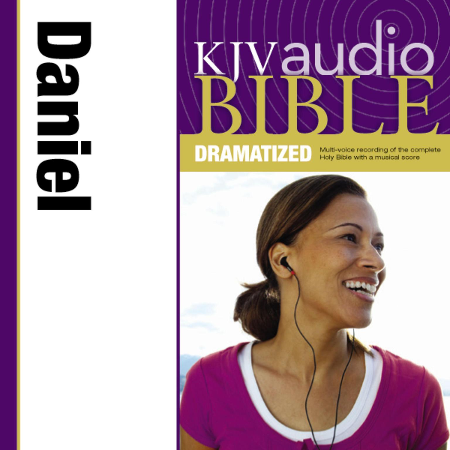 Printable KJV, Audio Bible, Dramatized: Daniel, Audio Download Audiobook Cover Art
