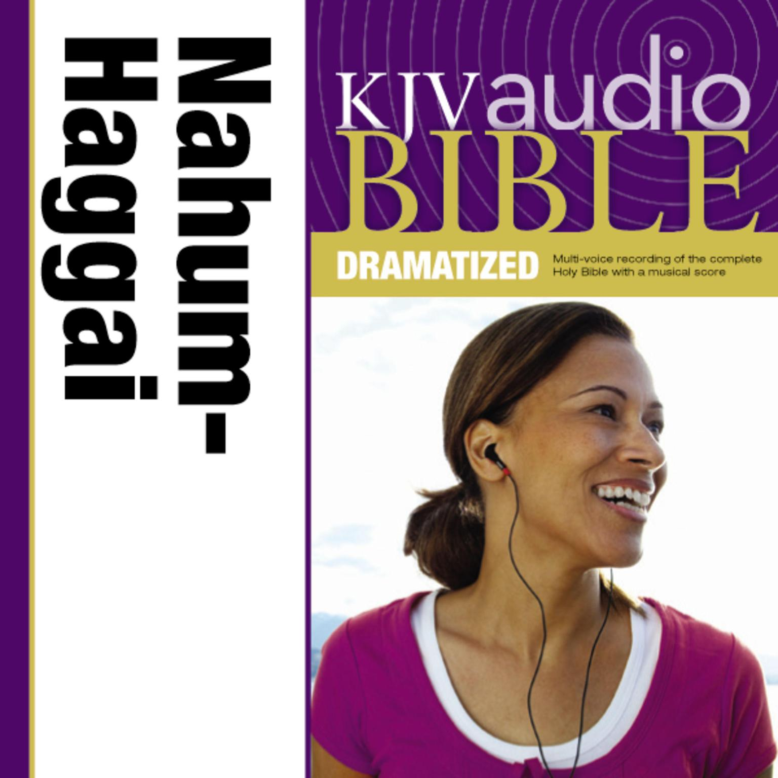 Printable KJV, Audio Bible, Dramatized: Nahum, Habakkuk, Zephaniah, and Haggai, Audio Download Audiobook Cover Art