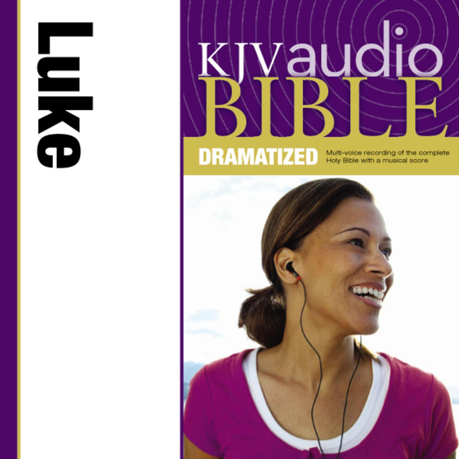 Printable KJV, Audio Bible, Dramatized: Luke, Audio Download Audiobook Cover Art