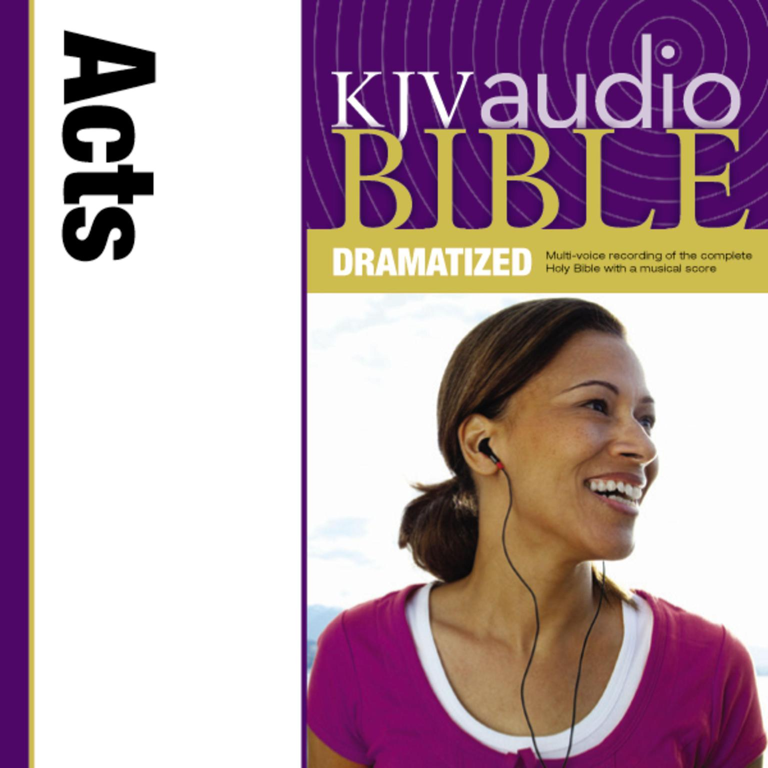 Printable KJV, Audio Bible, Dramatized: Acts, Audio Download Audiobook Cover Art
