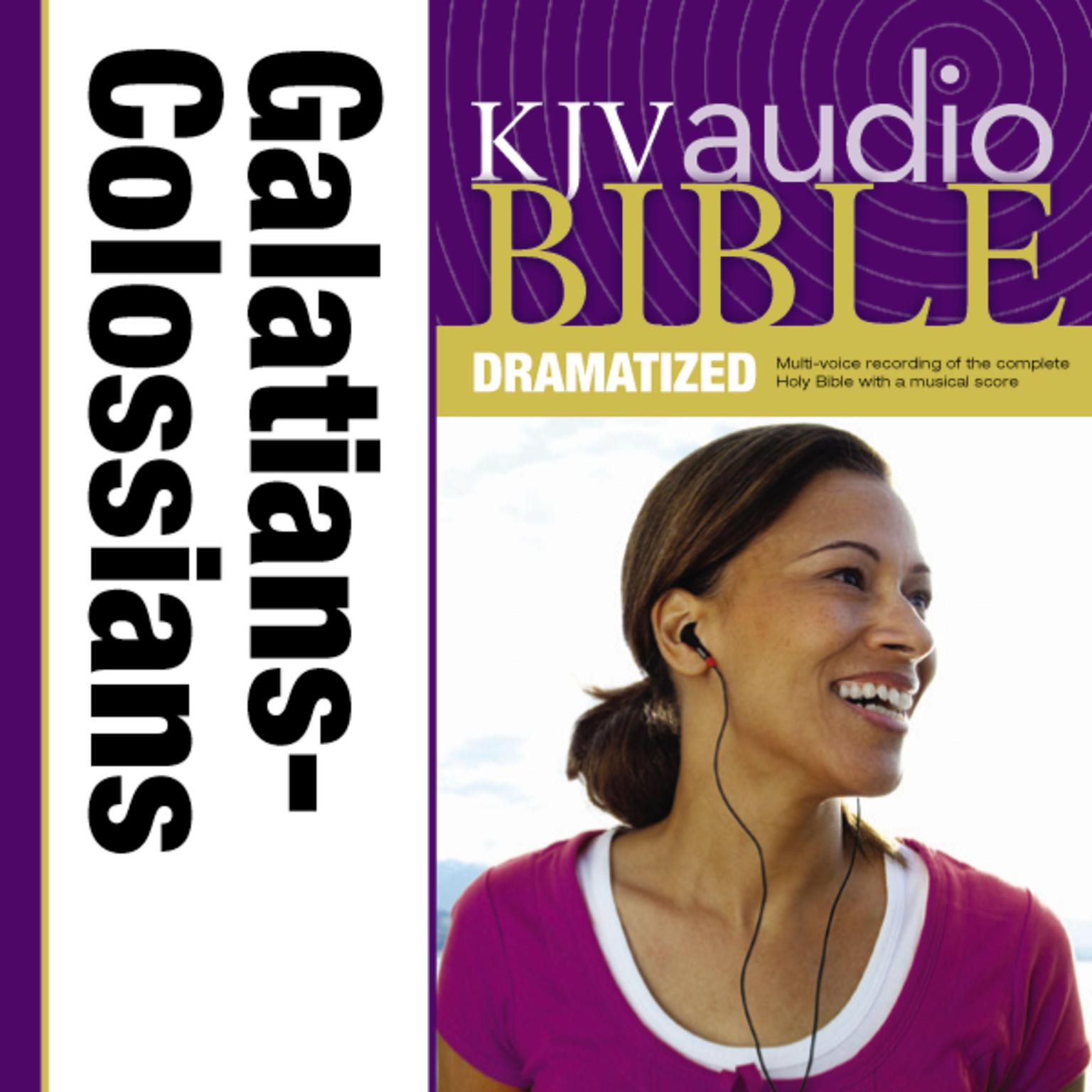 Printable KJV, Audio Bible, Dramatized: Galatians, Ephesians, Philippians, and Colossians, Audio Download Audiobook Cover Art
