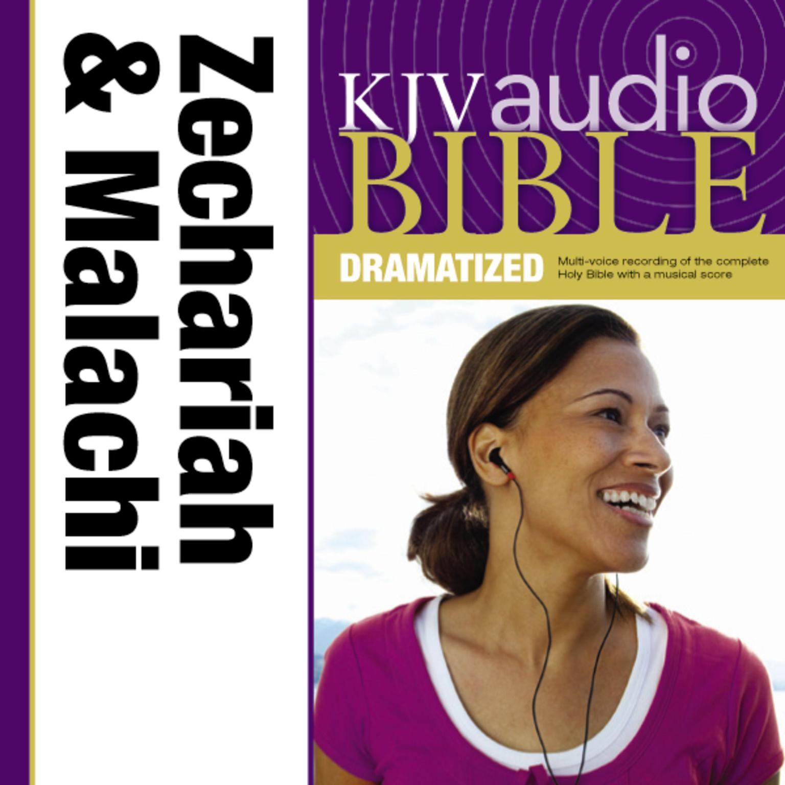 Printable KJV, Audio Bible, Dramatized: Zechariah and Malachi, Audio Download Audiobook Cover Art