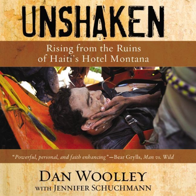 Printable Unshaken: Rising from the Ruins of Haiti's Hotel Montana Audiobook Cover Art