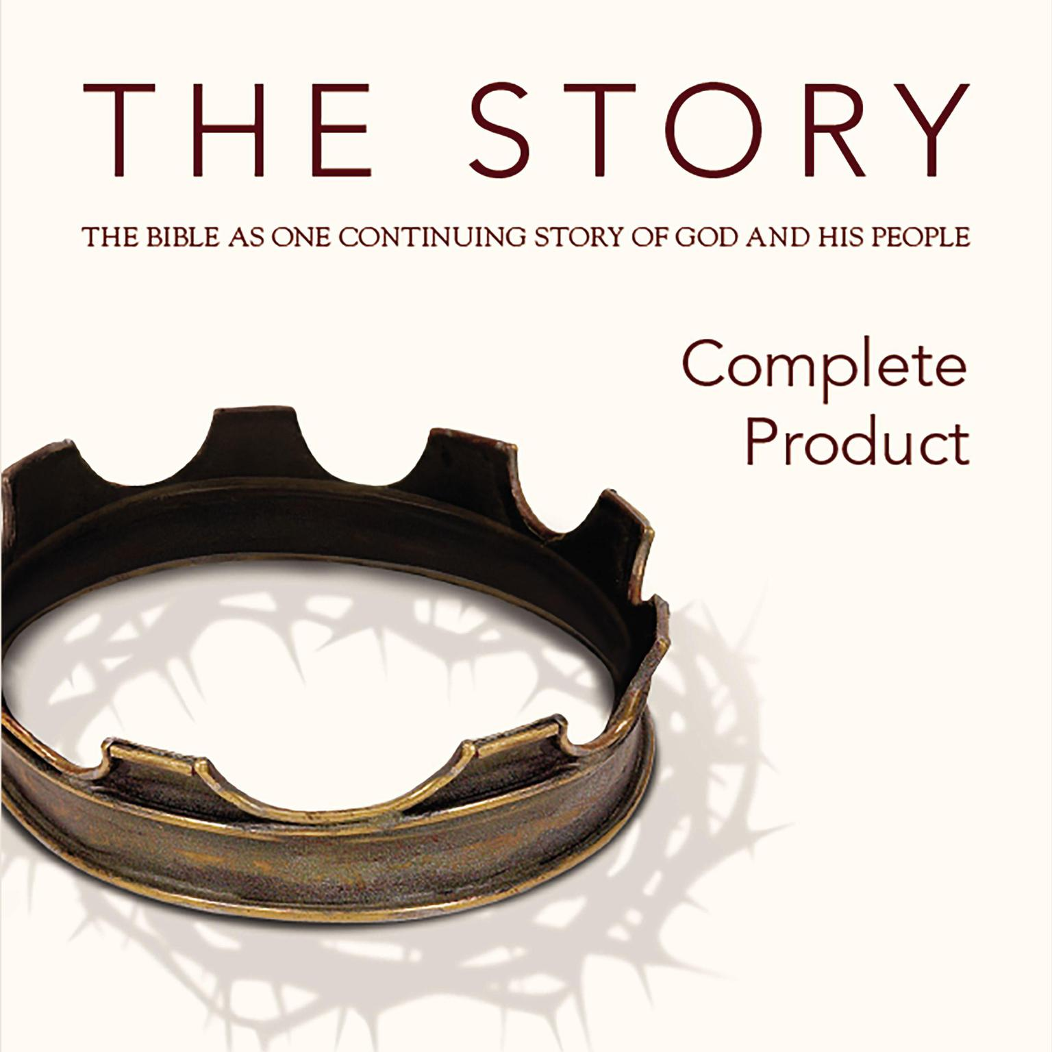 Printable NIV, The Story, Audio Download: The Bible as One Continuing Story of God and His People Audiobook Cover Art