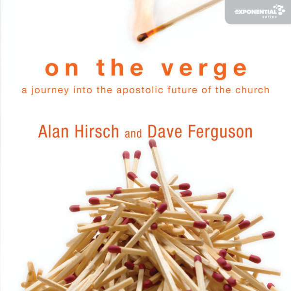 Printable On the Verge: A Journey Into the Apostolic Future of the Church Audiobook Cover Art