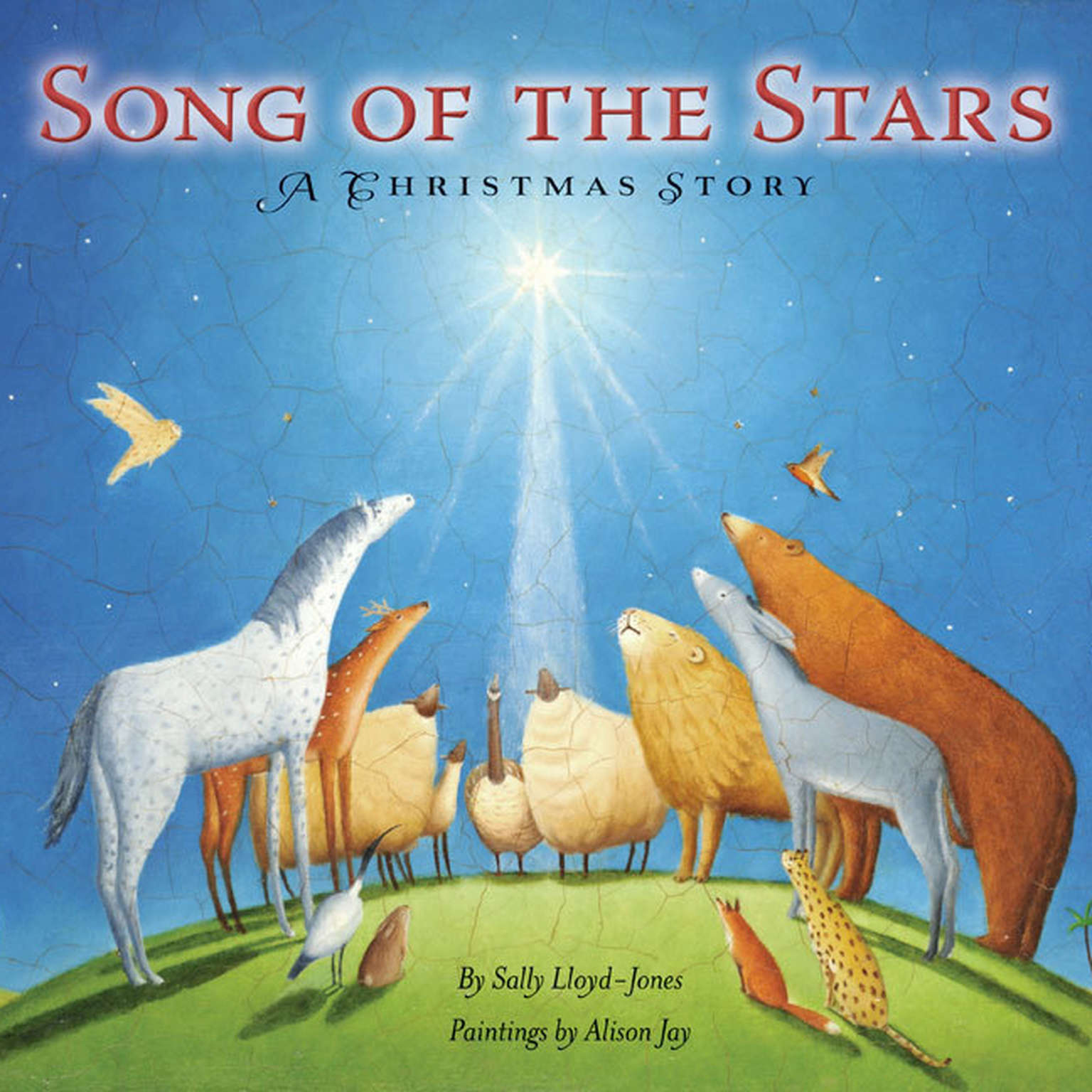 Printable Song of the Stars: A Christmas Story Audiobook Cover Art