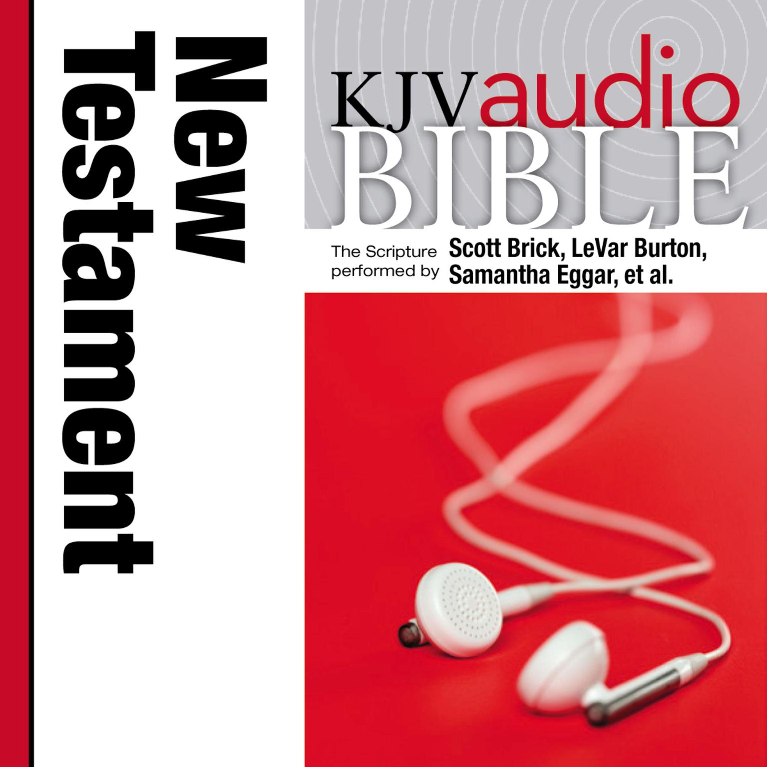 Printable KJV, Audio Bible, Pure Voice: New Testament, Audio Download Audiobook Cover Art