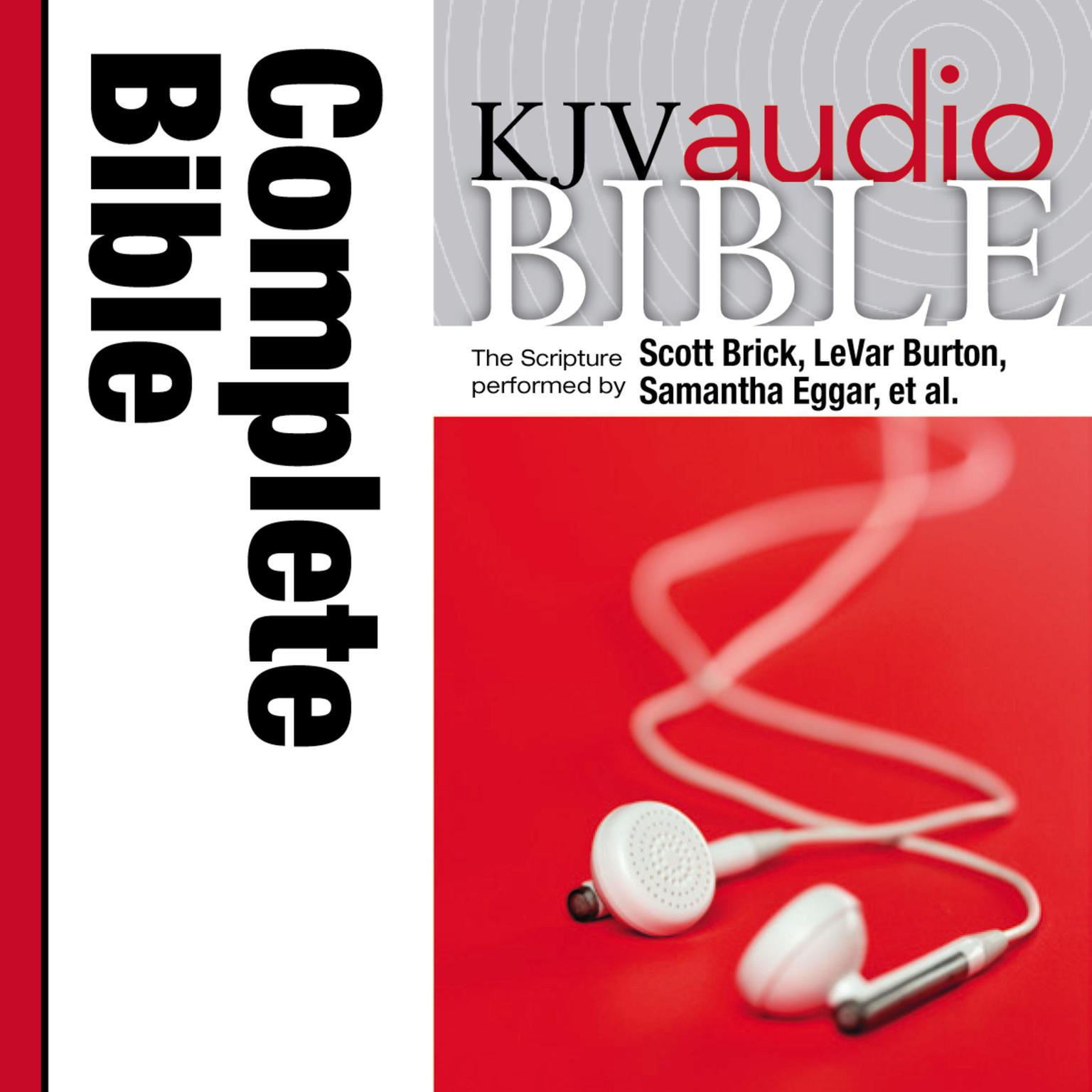 Printable KJV, Audio Bible, Pure Voice, Audio Download Audiobook Cover Art