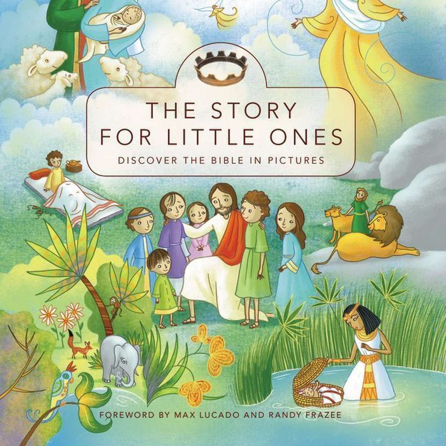Printable The Story for Little Ones Audiobook Cover Art
