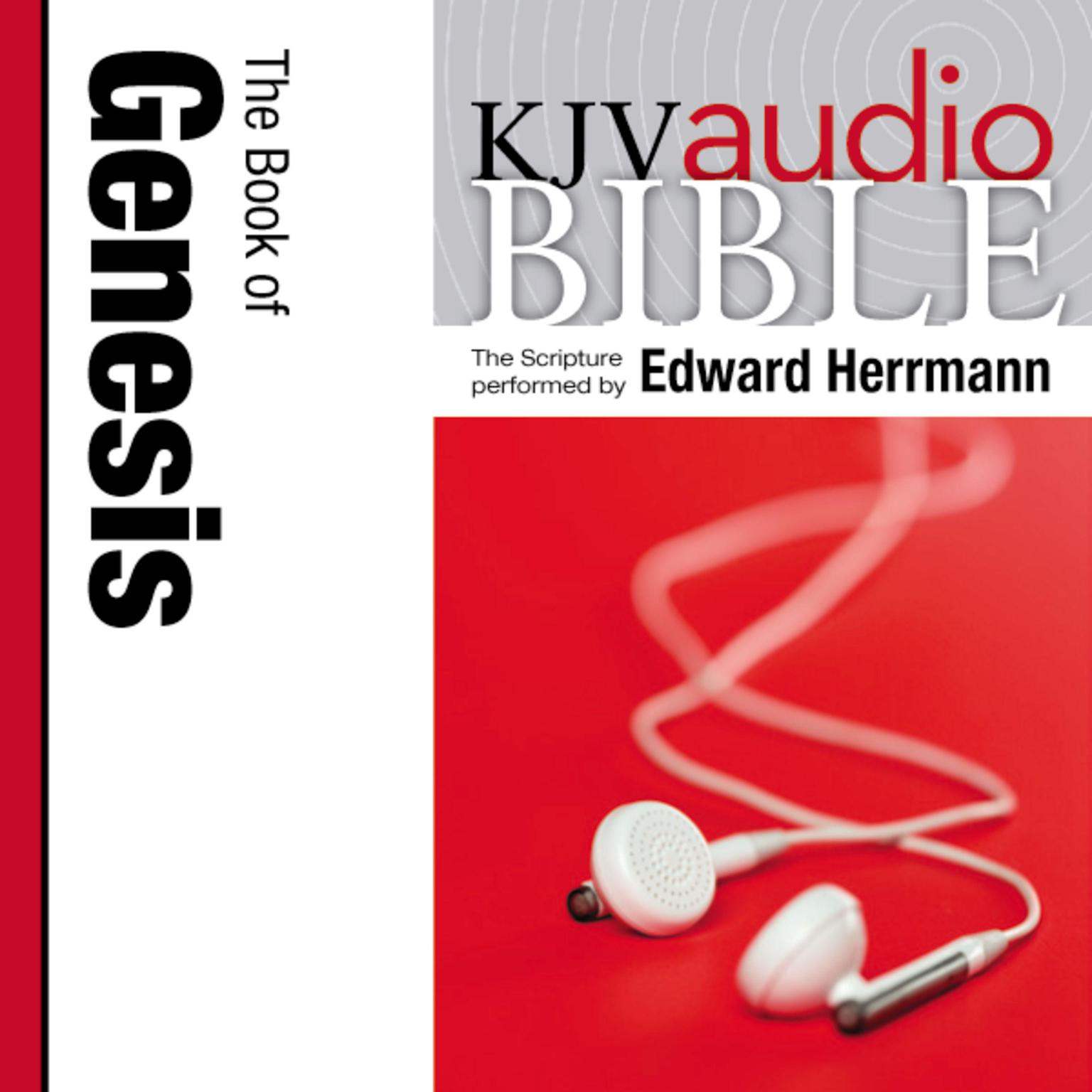 Printable KJV, Audio Bible: The Book of Genesis, Audio Download Audiobook Cover Art