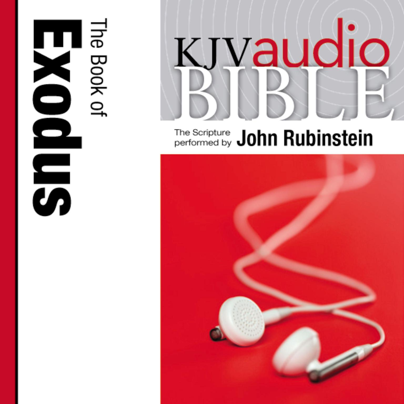 Printable KJV, Audio Bible: The Book of Exodus, Audio Download: The Book of Exodus Audiobook Cover Art