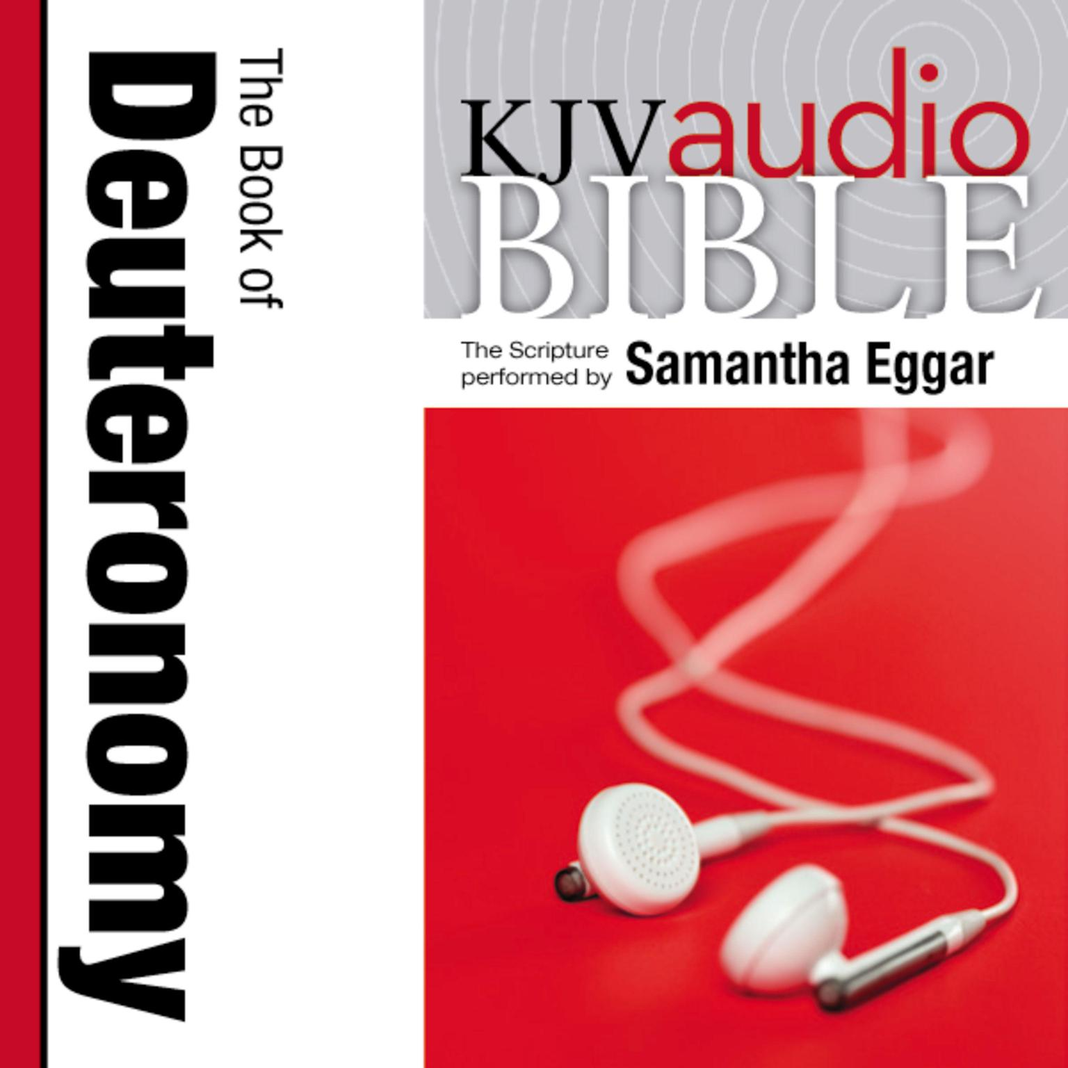 Printable KJV, Audio Bible: The Book of Deuteronomy, Audio Download Audiobook Cover Art