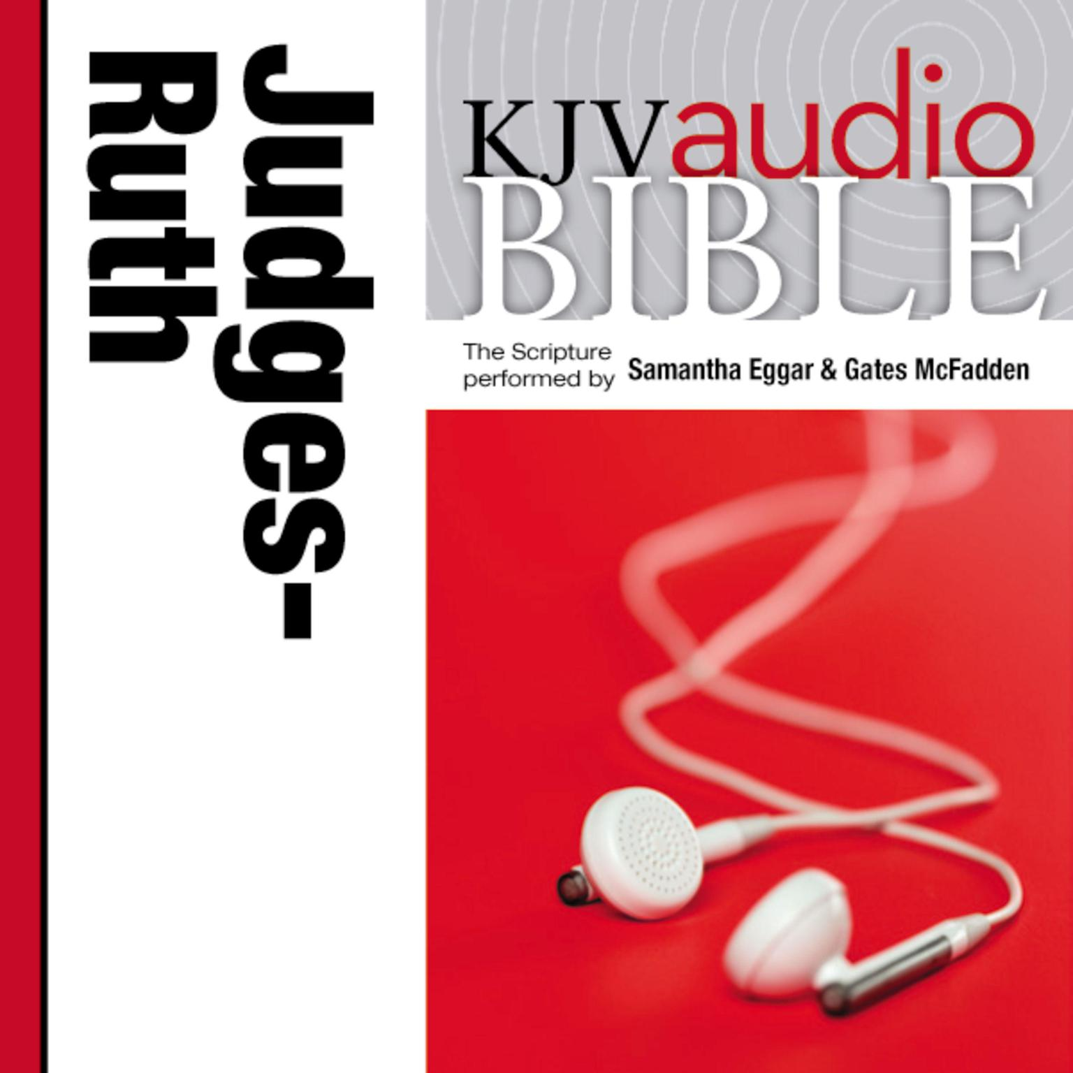 Printable KJV, Audio Bible: The Books of Judges and Ruth, Audio Download Audiobook Cover Art