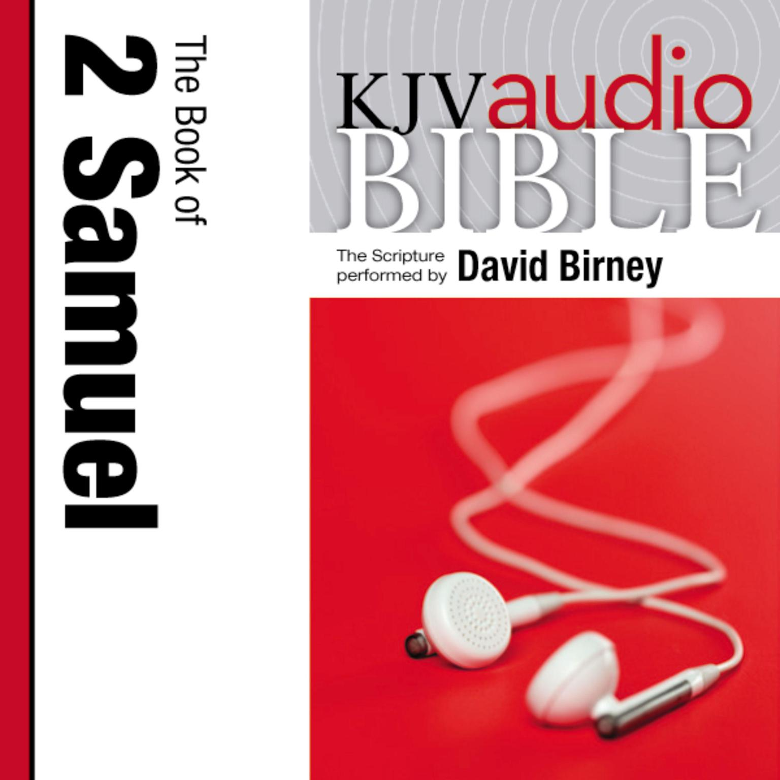 Printable KJV, Audio Bible: The Book of 2 Samuel, Audio Download Audiobook Cover Art