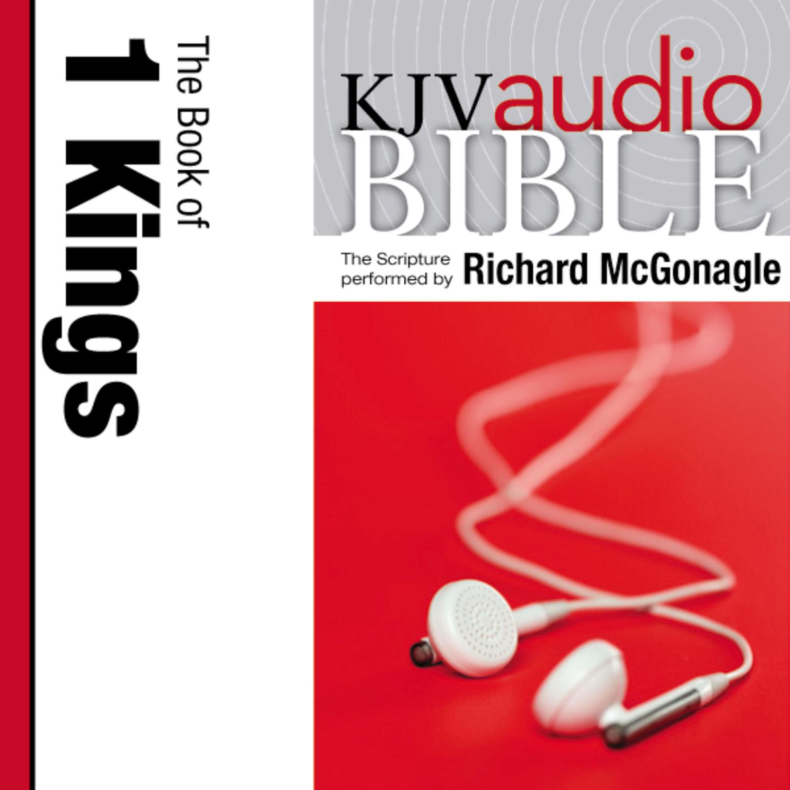 Printable KJV, Audio Bible: The Book of 1 Kings, Audio Download: The Book of 1 Kings Audiobook Cover Art
