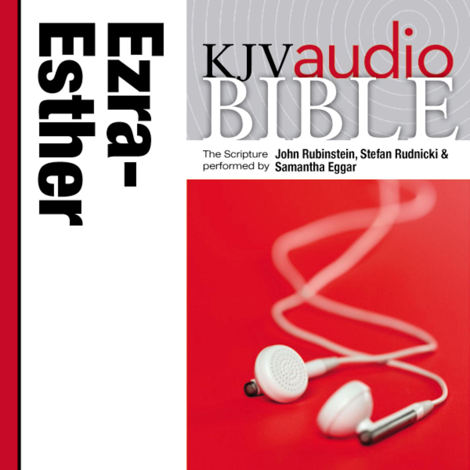 Printable KJV, Audio Bible: The Books of Ezra, Nehemiah, and Esther, Audio Download Audiobook Cover Art