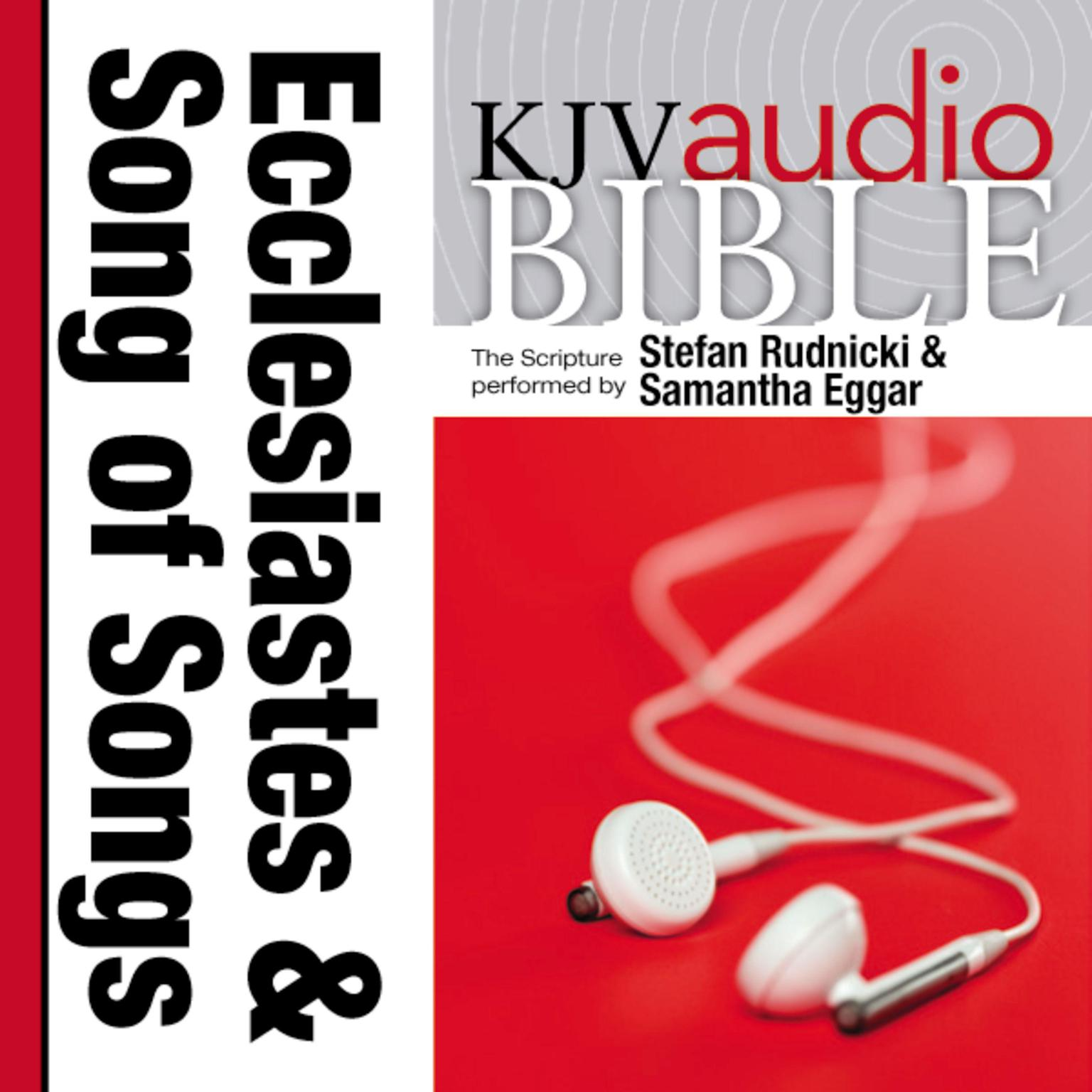 Printable KJV, Audio Bible: The Books of Ecclesiastes and Song of Songs, Audio Download Audiobook Cover Art