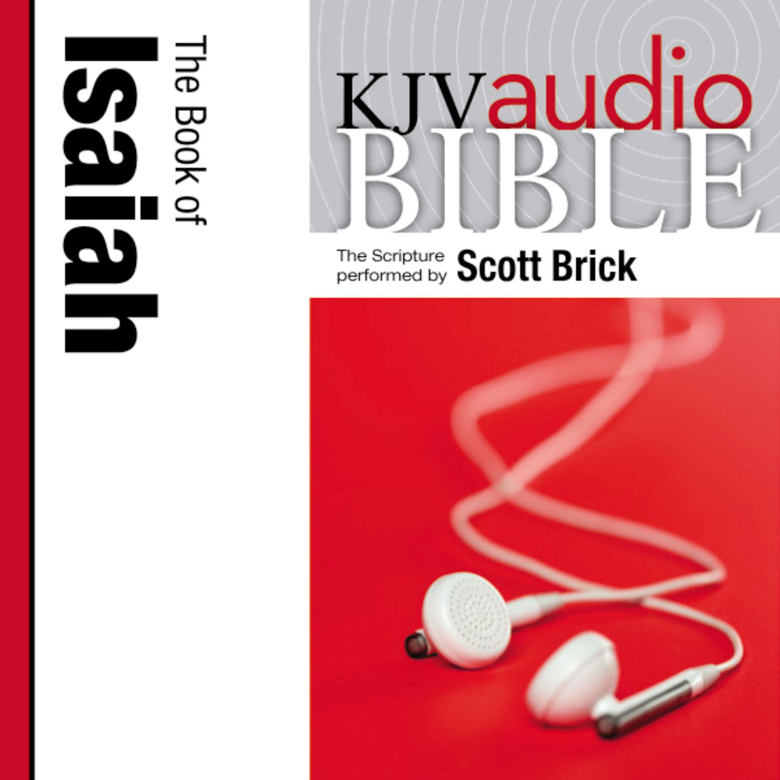 Printable KJV, Audio Bible, The Book of Isaiah Performed, Audio Download: The Book of Isaiah Audiobook Cover Art